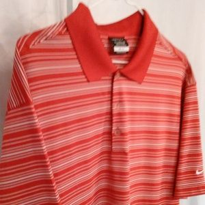 Nike Shirts - Nike Rosey Red Athletic Style Sport Shirt (XL)